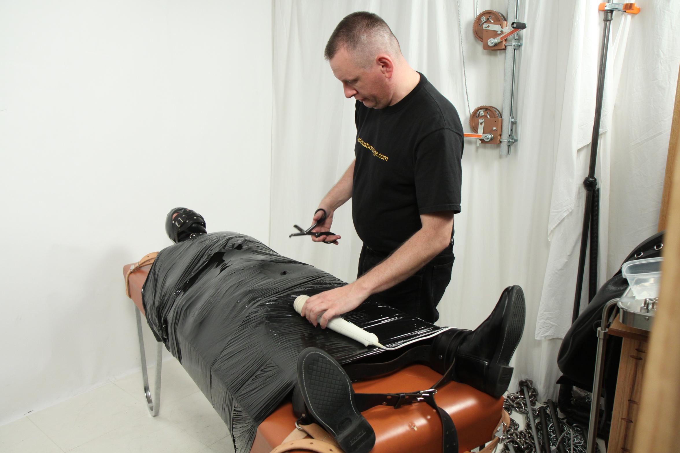 Male bondage experience