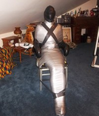 Think, tight mummification bondage consider